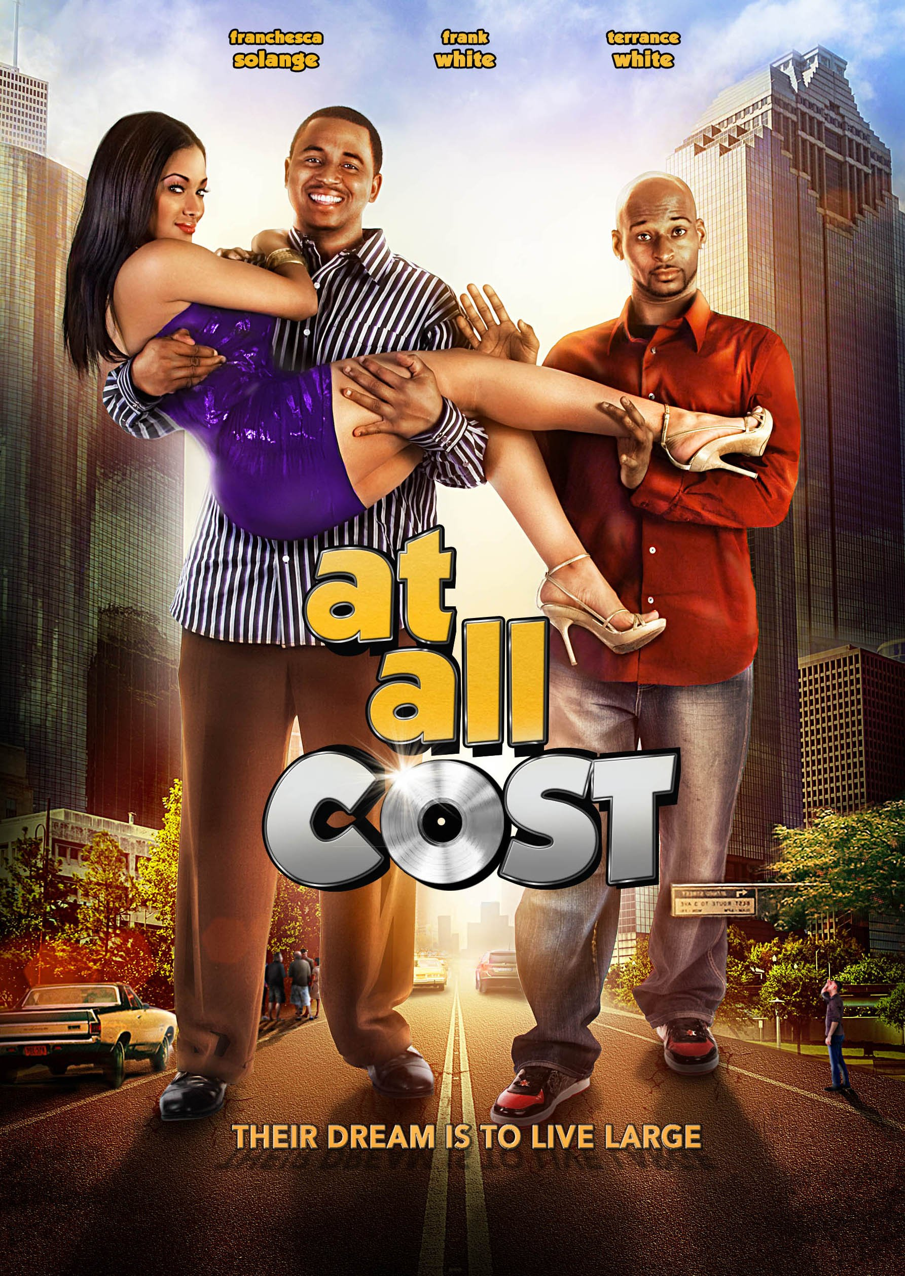 DVD : Frank White - At All Cost (DVD)