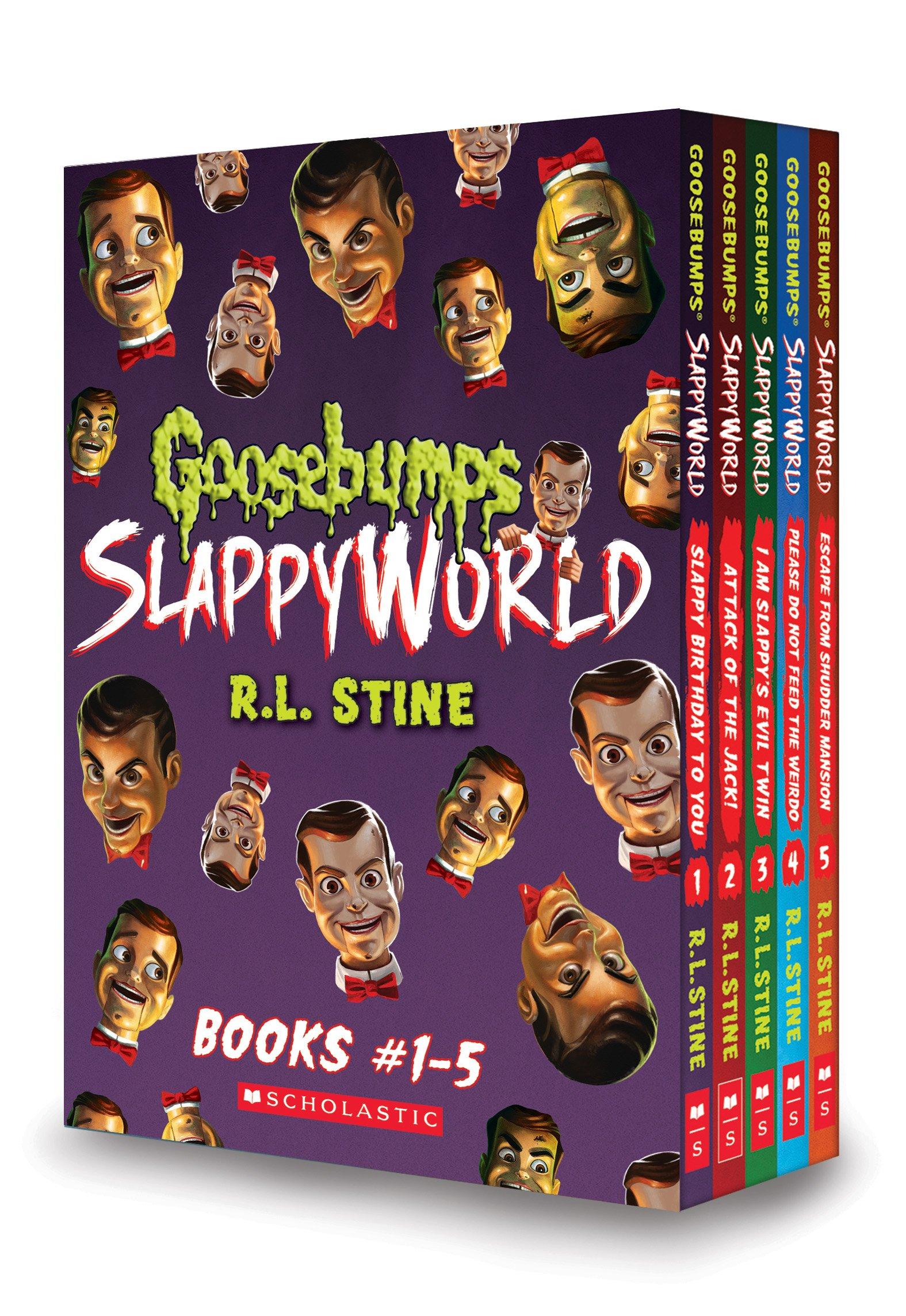 Goosebumps SlappyWorld Box Set: Books 1-5 by Scholastic Inc.