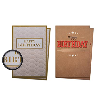 Amazon birthday greeting cards back to nature collection birthday greeting cards quotback to naturequot collection set of 10 premium cards m4hsunfo
