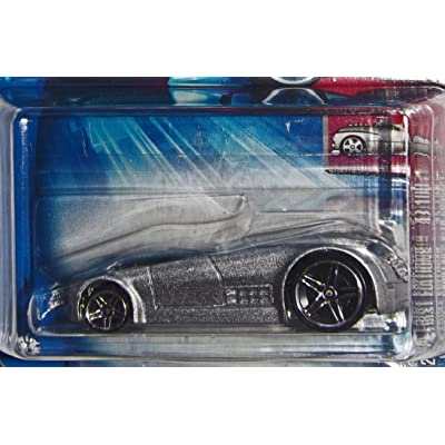 2004 - Mattel - Hot Wheels - 047 - Model #B3567 - First Editions - Hardnoze Cadillac V-16 Concept - Die Cast Metal - New - Collectible: Toys & Games