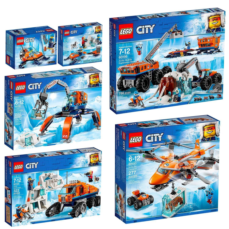LEGO City Artic Set 60190 60191 60192 60193 60194 60195