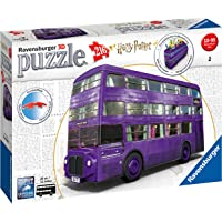 Ravensburger 11158 Harry Potter Knight Bus, 216pc 3D Jigsaw Puzzle,