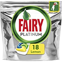 Fairy Platinum All In One Dishwasher Tablets Lemon 18 Pack
