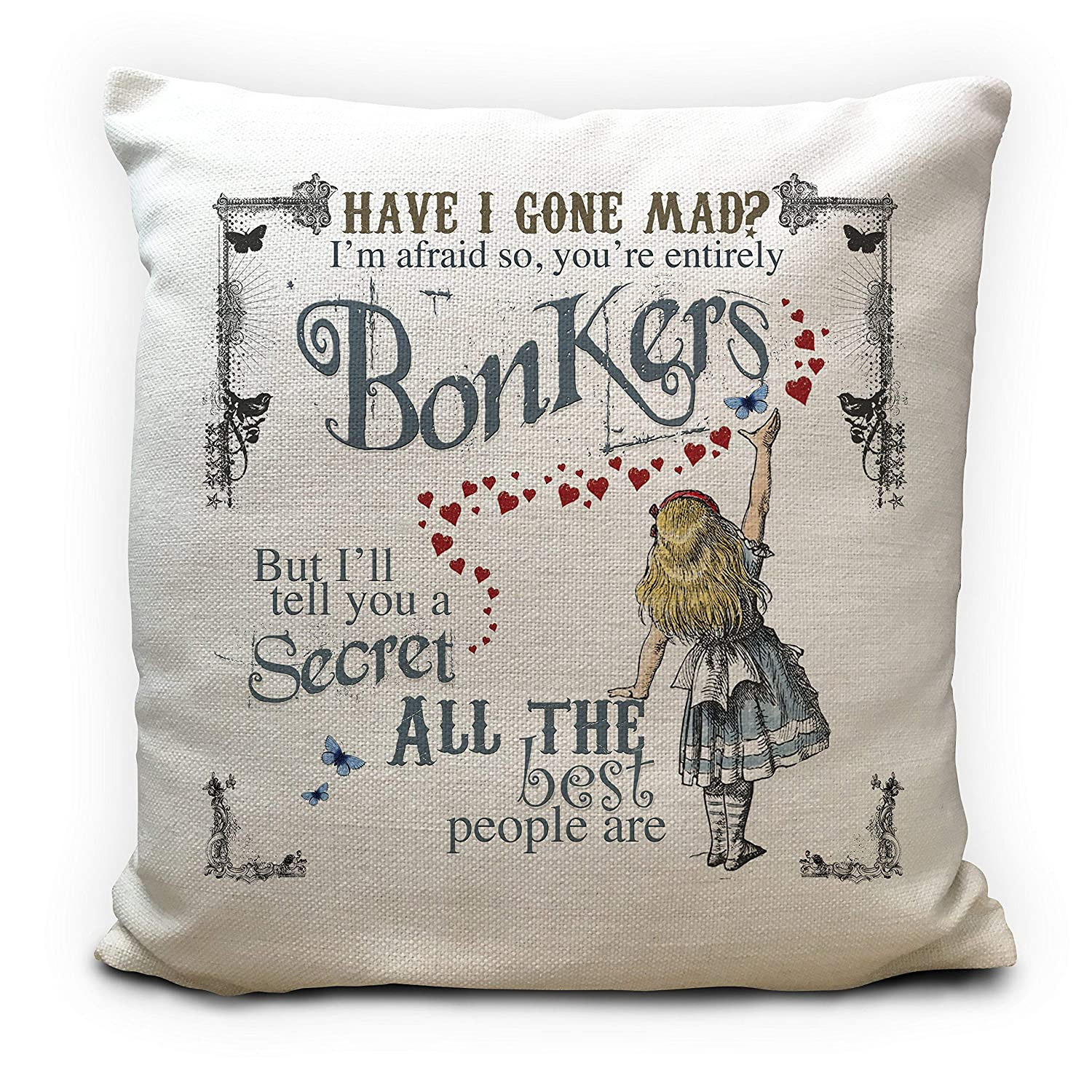 Cushions Alice Wonderland Changed Cushion Covers Pillow Cases Home Decor Or Inner Home Furniture Diy Quatrok Com Br