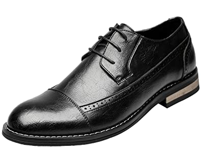 Men's Formal Modern Classic Dress Shoes Brogue Oxfords