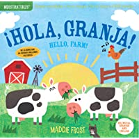 Indestructibles: ¡Hola, granja! / Hello, Farm!: Chew Proof · Rip Proof · Nontoxic · 100% Washable (Book for Babies…