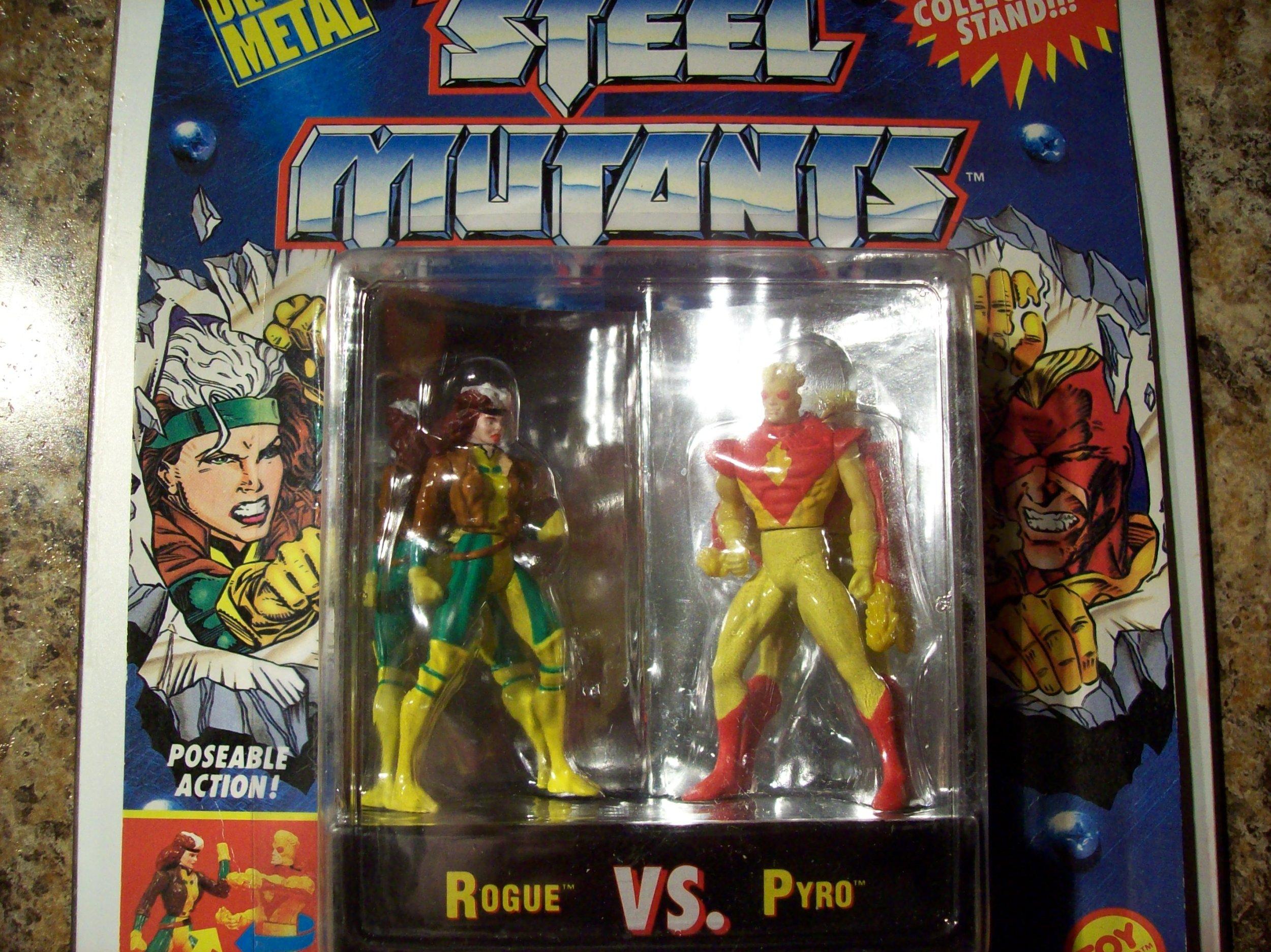 X-men Steel Mutants Rogue Vs. Pyro