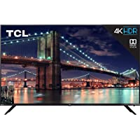 "TCL 75R617 75"" 4K Smart LED Roku UHDTV + $35.97 Rakuten Credit"