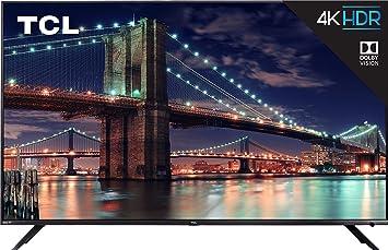Tcl 75r617 75 Inch 4k Ultra Hd Roku Smart Led Tv 2019 Model