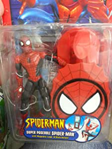 Spider-Man Action Figure Super Poseable Spider-Man [Magnetic Leap 'n Stick Action]