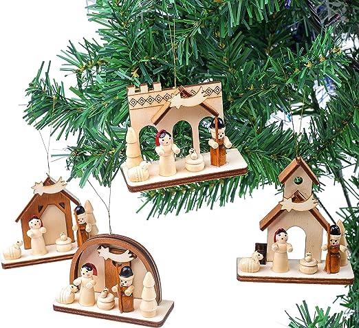 BRUBAKER 4 Adornos navideños para tu árbol de Navidad - Adornos de ...