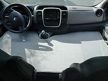 kfoam.es Colchón Plegable Cama Delantera Camper para Renault Trafic: Amazon.es: Coche y moto
