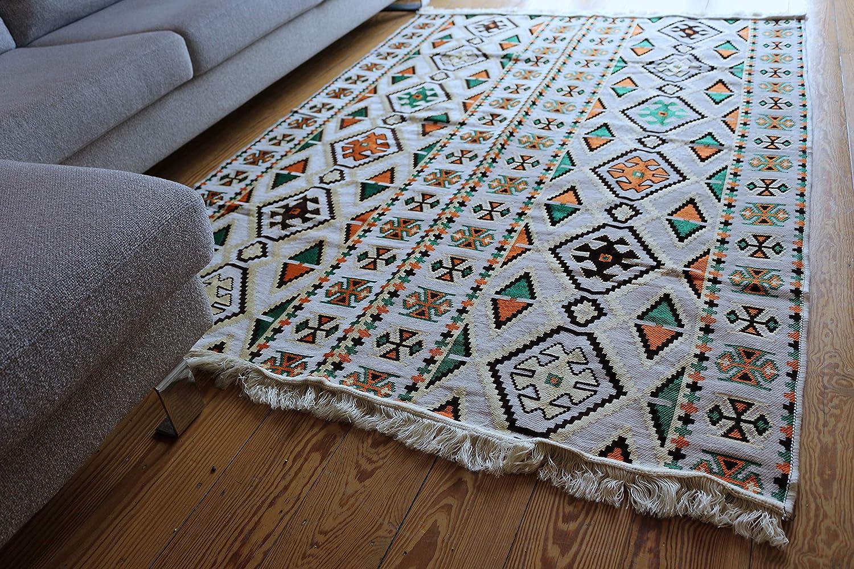 tapis kilim pas cher et moderne pour salon