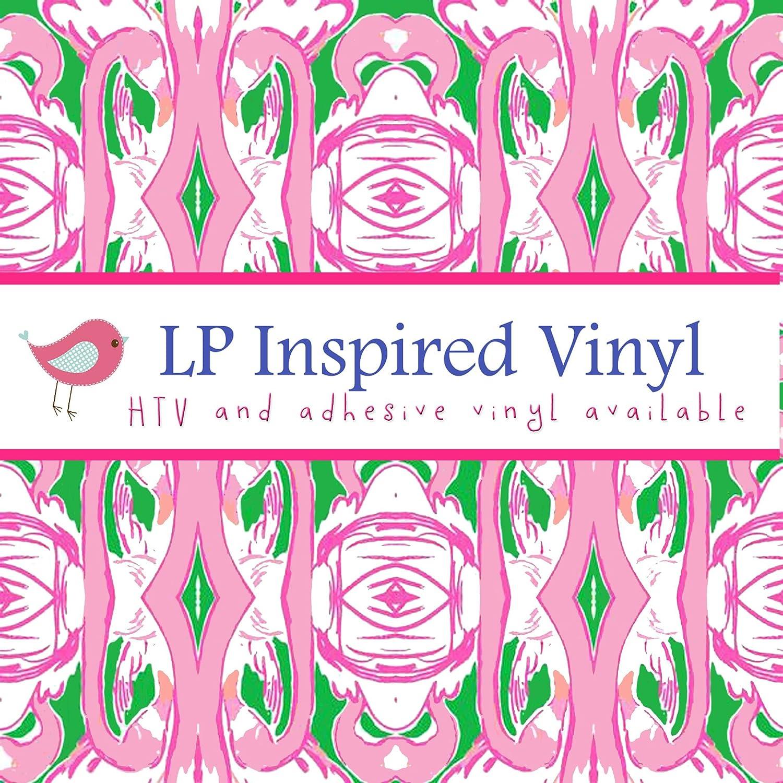 inauguración-L056 Lilly P inspirado Flamingo patrón impreso Vinilo