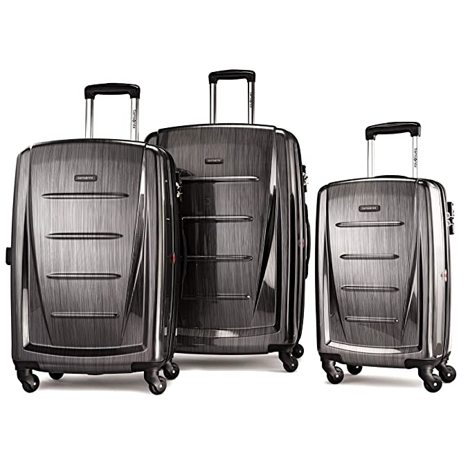 Amazon.com: Samsonite Winfield 2 Hardside Luggage, Carbón ...
