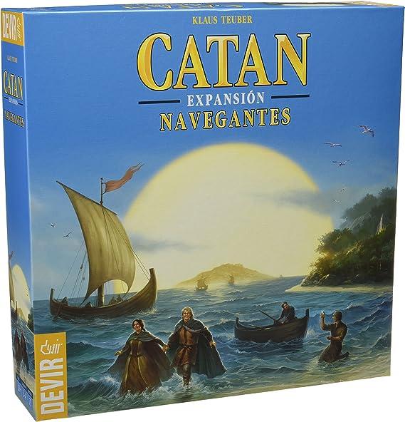 Devir - Catan, expansión Navegantes, juego de mesa (BGNAVEGANTES): Amazon.es: Juguetes y juegos