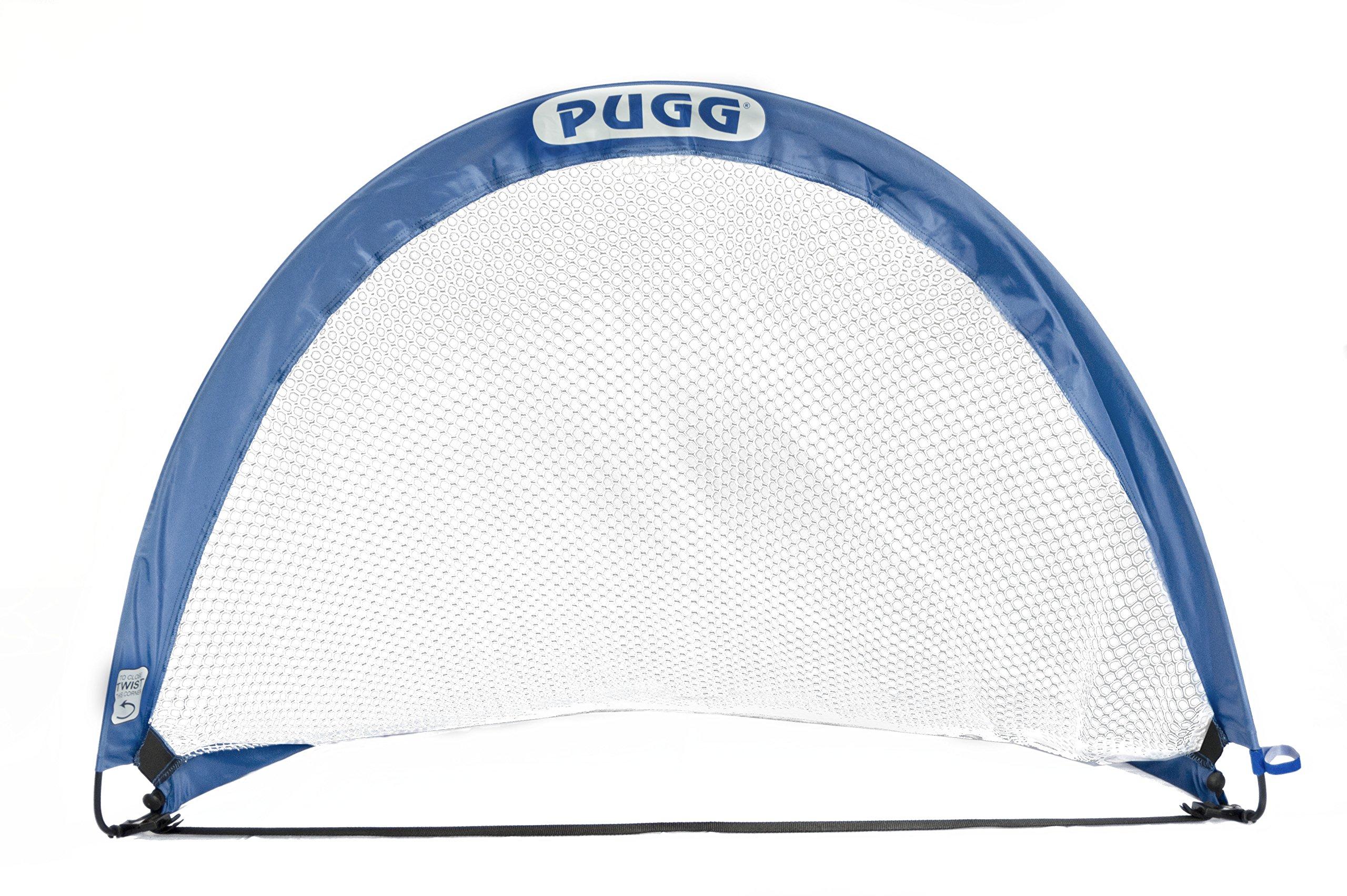 pugg 4 foot pop up soccer goal portable training futsal. Black Bedroom Furniture Sets. Home Design Ideas
