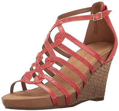 572f24a565 Amazon.com | Aerosoles Women's Plush Wedge Sandal | Platforms & Wedges
