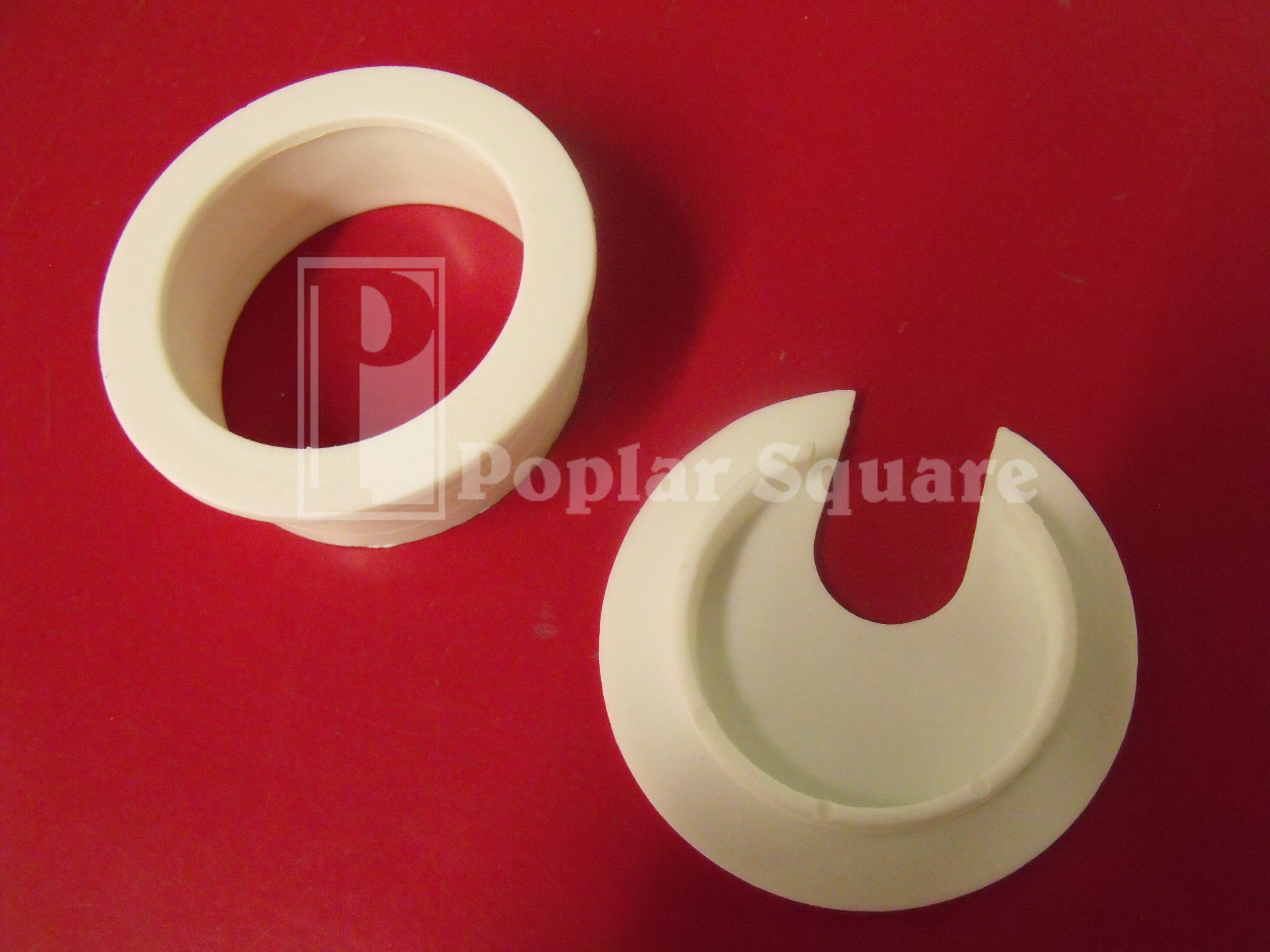 Cord Grommet 1-3/4'' 25/box White #1039WH by Bainbridge (Image #4)