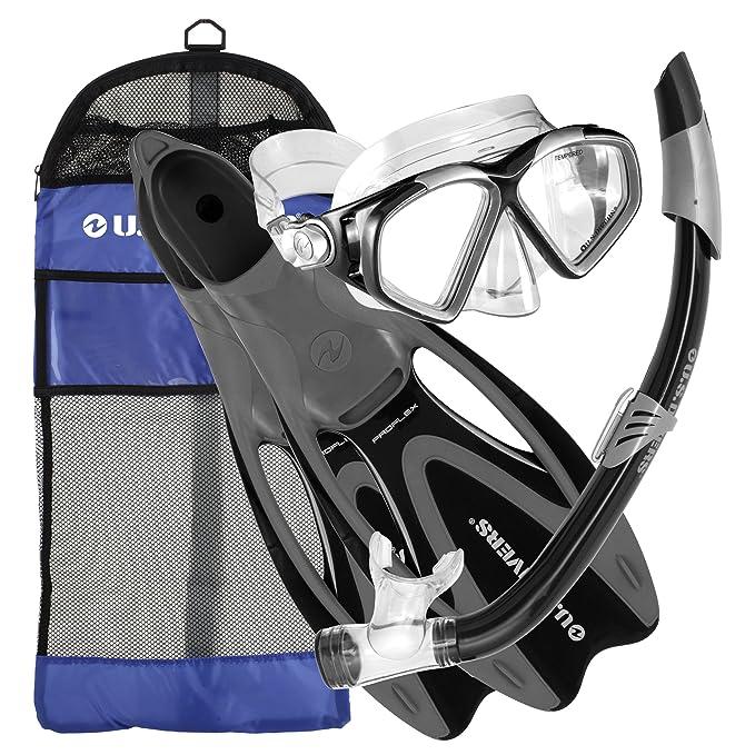 9. U.S. Divers Adult Cozumel Snorkel Gear