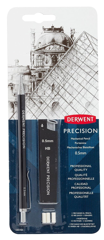 Kit de L/ápiz mec/ánico de precisi/ón de Derwent HB 0,5 mm