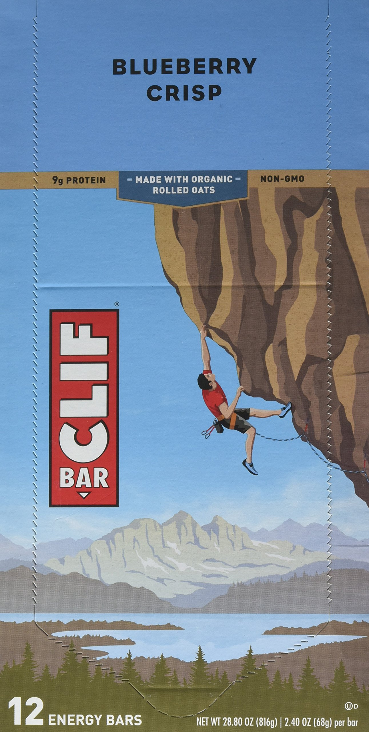 Clif Bars Blueberry Crisp Clif Bar (12x2.4oz) by Clif Bar