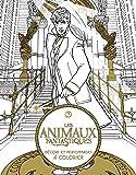Les Animaux Fantastiques : Décors et personnages à colorier