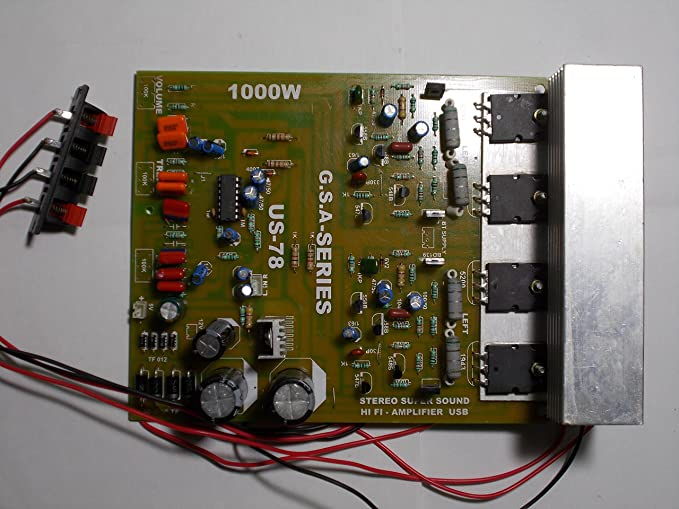 Soumik Electricals 1000 Watt Amplifier Board, Power Amplifier Kit