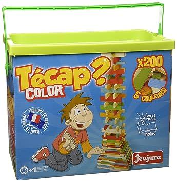 ets jeujura 8334 jeux de construction tecap color baril de 200 planchettes - Tecap Color