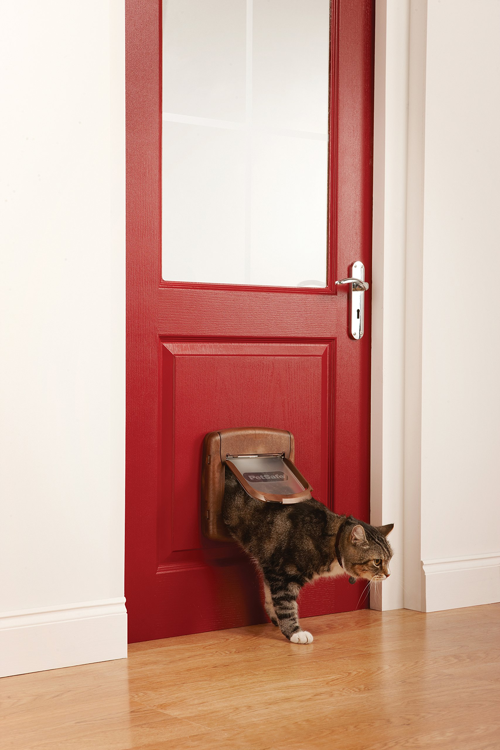 Karlie STAYWELL 420. Magnetic Cat Flap - wood finish by Karlie (Image #2)