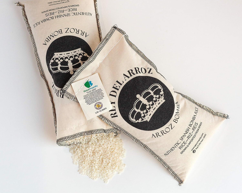 Gourmanity Rey del Arroz Bomba Arroz: Amazon.com: Grocery ...
