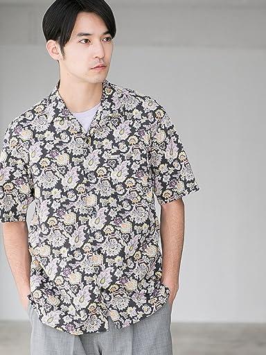 Liberty Camp Shirt 3216-166-1233: Dark Grey
