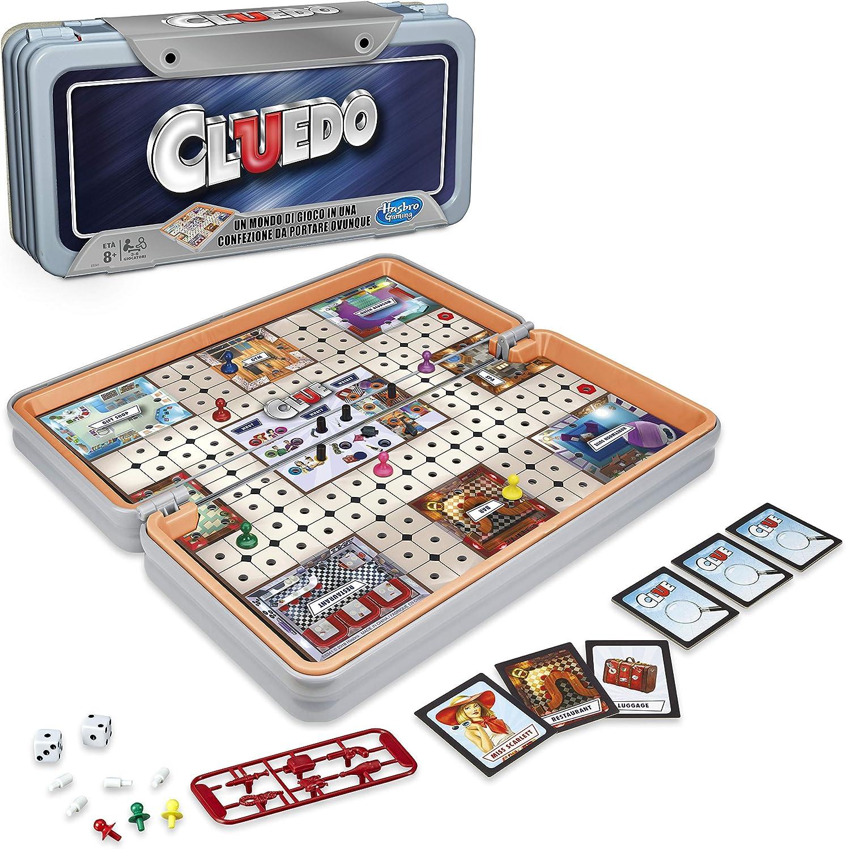 Hasbro Gaming Cluedo Road Trip, edición de Viaje: Amazon.es: Juguetes y juegos