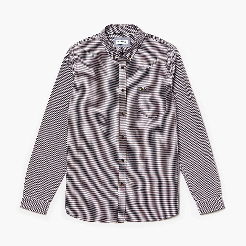 Bleu (Marine Alizarine Ya6) XX-grand  Lacoste Chemise habillée Homme