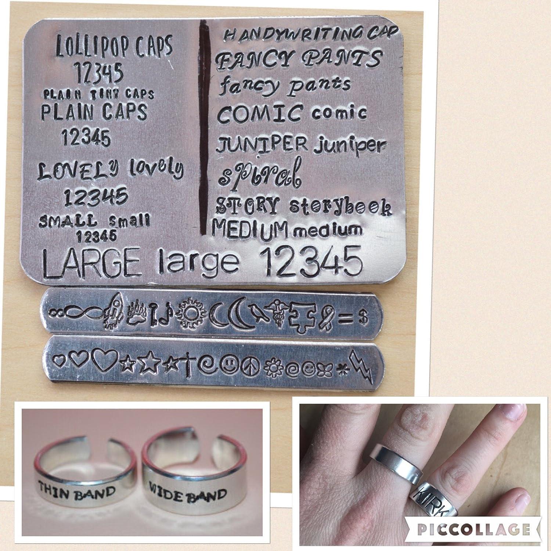 SuperWhoLock adjustable aluminum metal stamped cuff bracelet