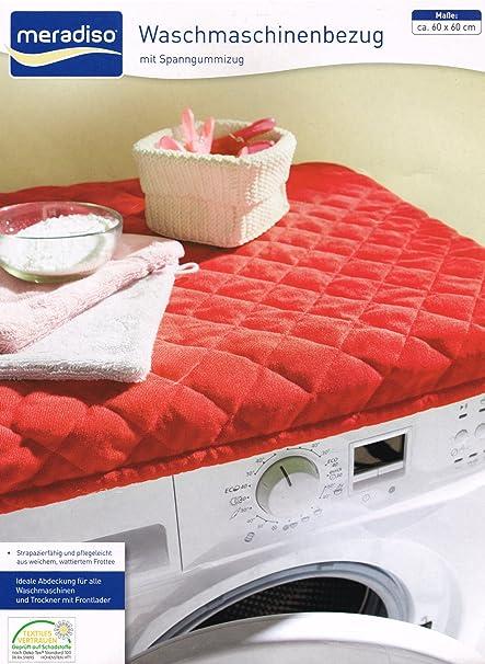 Waschmaschinenbezug Trockner Schonbezug Abdeckung Überzug Waschmaschine DE STOCK