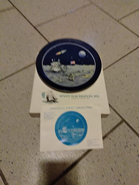 July 20 1969 Man on the Moon Collector Plate