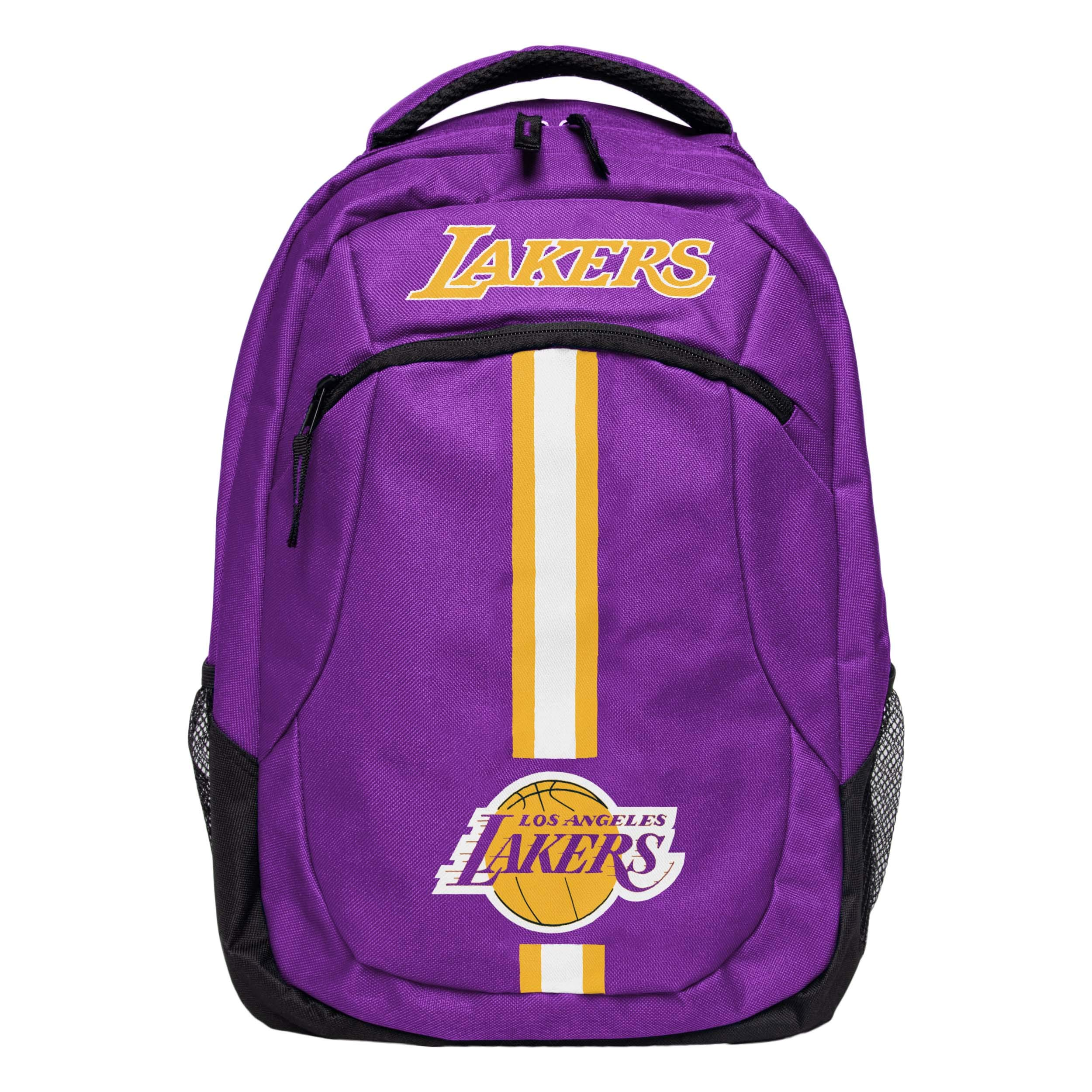 FOCO NBA Los Angeles Lakers Action BackpackAction Backpack, Team Color, One Size