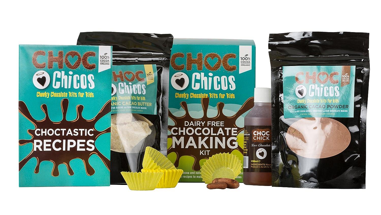 Choc Chicos Kids Dairy Free Chocolate Making Kit 337g
