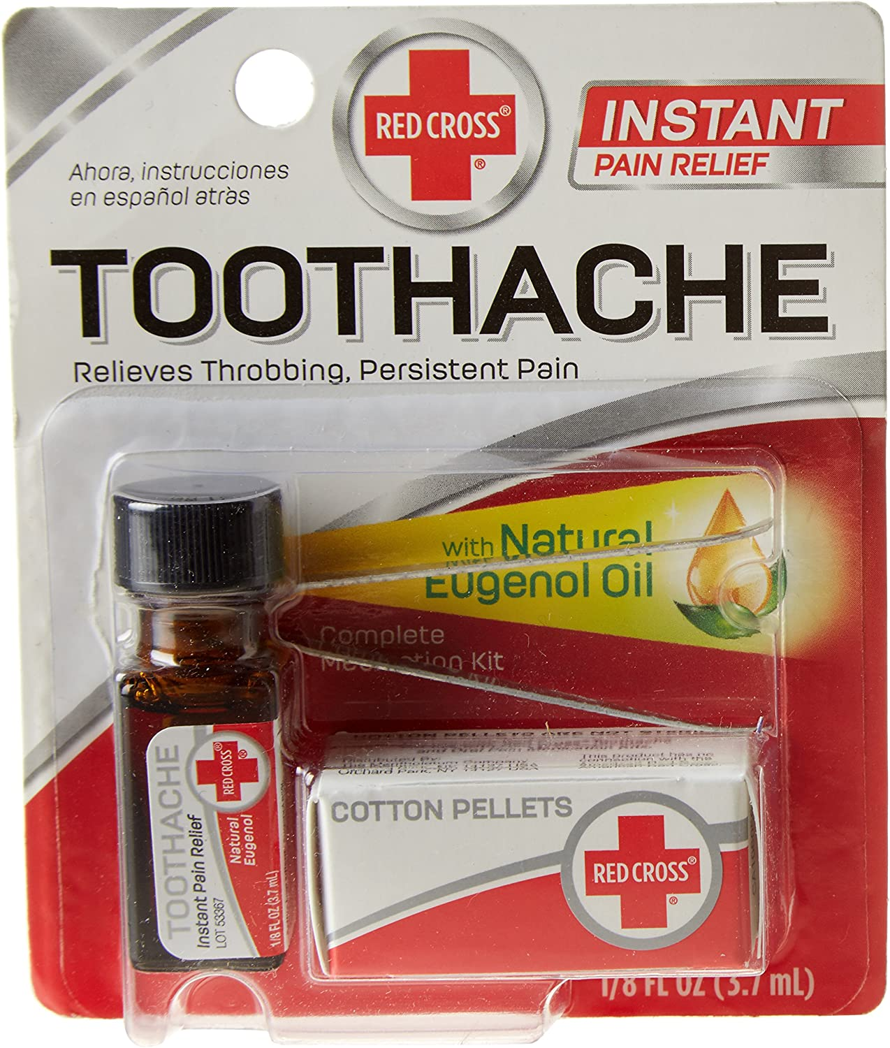 Red Cross Toothache Medication Drops: Health & Personal Care