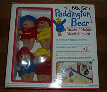 Amazon.com : Paddington Bear Musical Mobile Crib : Electronic Infant ...