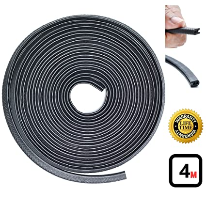 Remarkable, metal strip with rubber seal useful