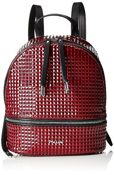 301e9a7914 Pollini Bag Women s Backpack Handbag Red (Bordeaux) 23x11x28 cm (B x ...