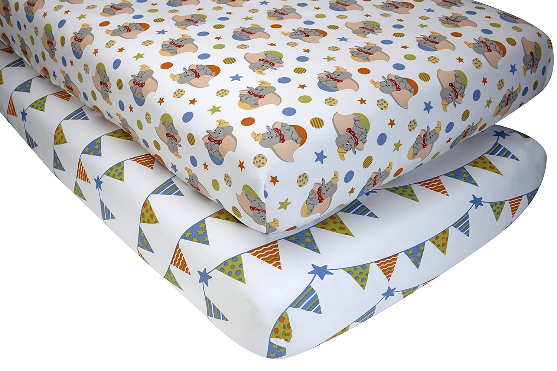 disney dumbo 2 crib sheet set baby