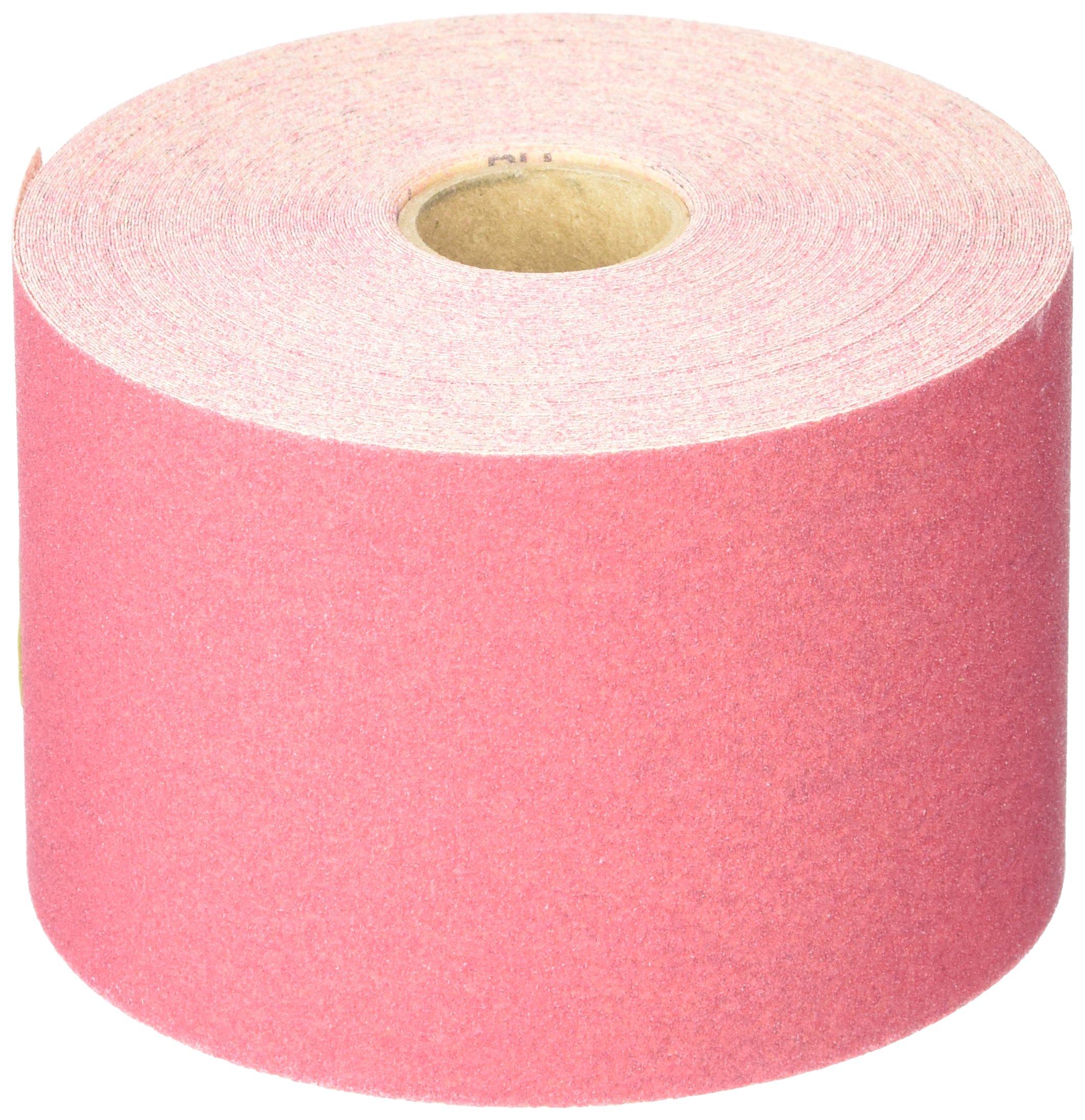 3M 01686 Stikit Red 2-3/4'' x 25 Yard P150 Grit Abrasive Sheet Roll