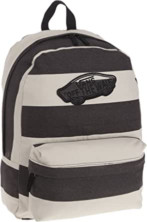 Amazon.com: Vans Realm Backpack Book Bag, Beige-Black