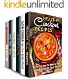 Busy Cooks Box Set (6 in 1): Over 200 Crockpot, Cast Iron, Ketogenic Recipes and Other Healthy Meals for Busy People (Quick & Easy Recipes) (English Edition)