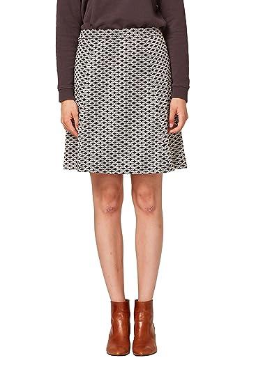 Esprit 088ee1d003 Falda, Multicolor (Black 001), Medium para Mujer ...