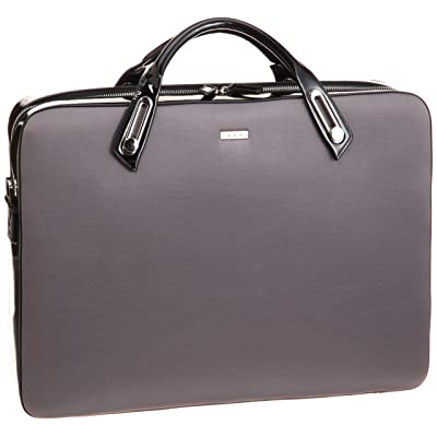 abbi PC bag Michel Satin Briefcase L size Gray