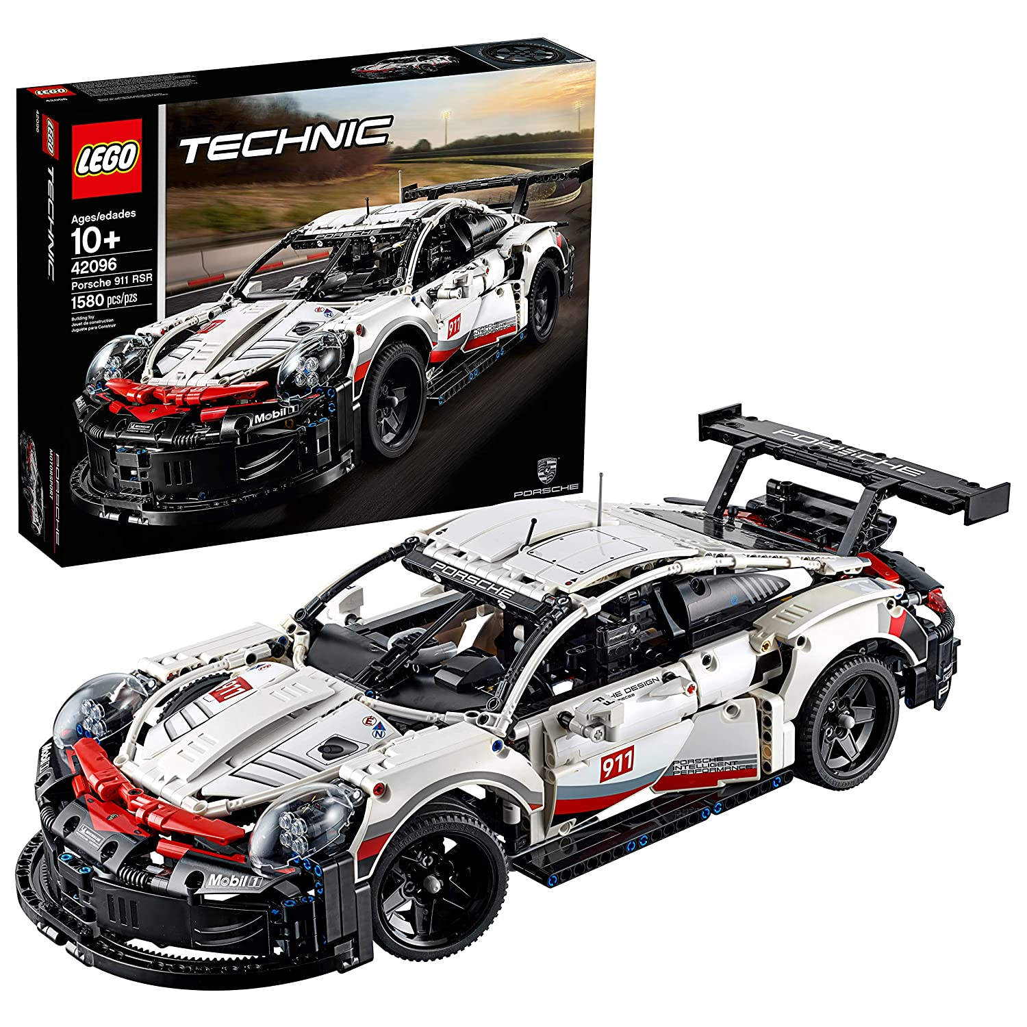 LEGO Technic Porsche 911 RSR 42096 Building Kit , New 2019